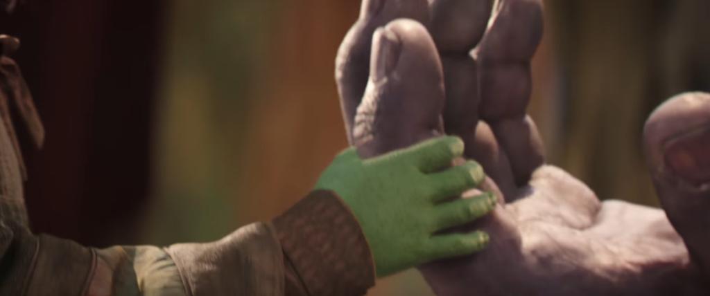 サノスの指パッチン