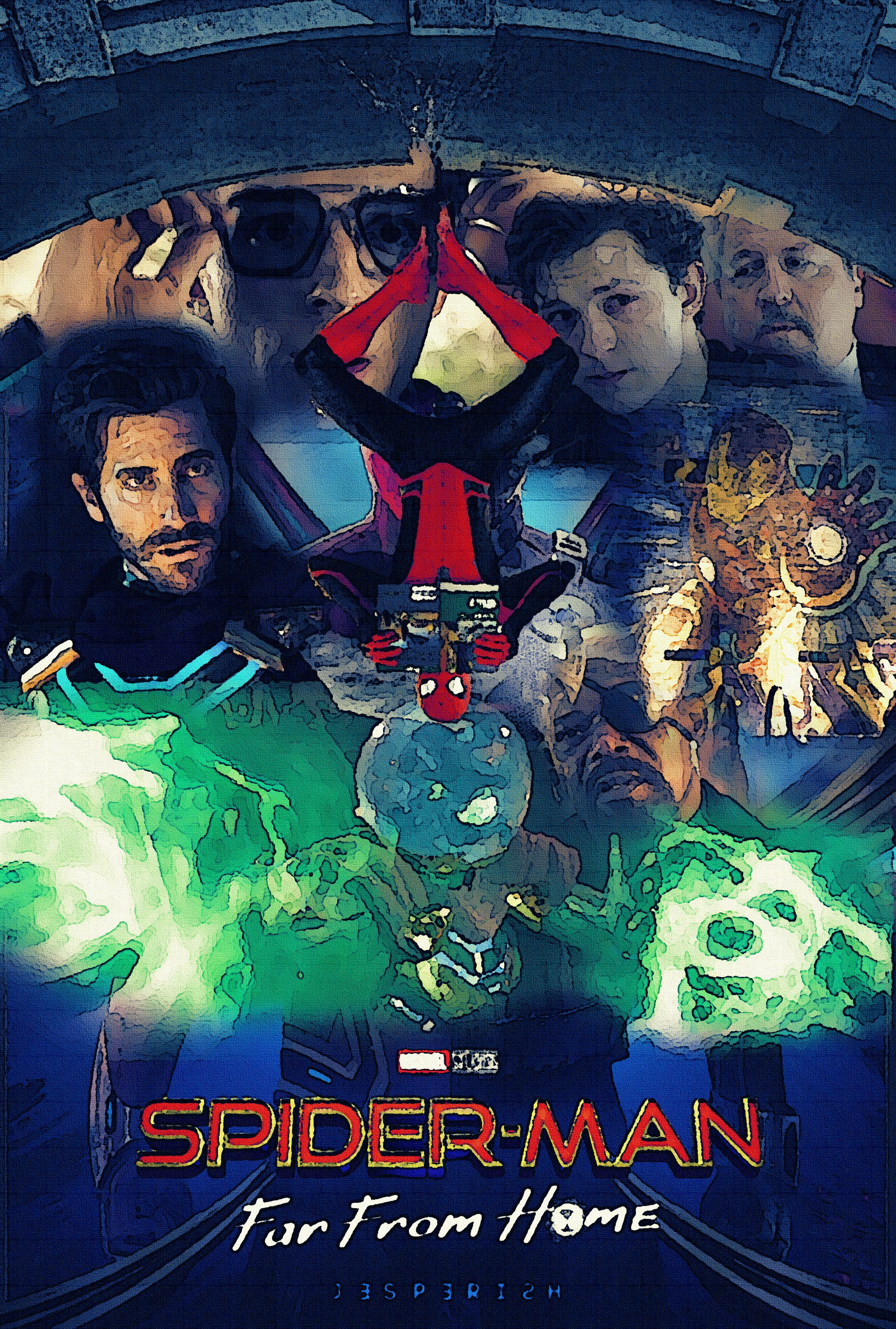考察 レビュー スパイダーマン ファー フロム ホーム Spider